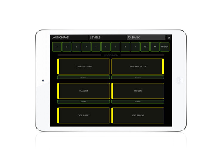 Touchosc Templates Ableton Ableton Launchpad touchosc Templates