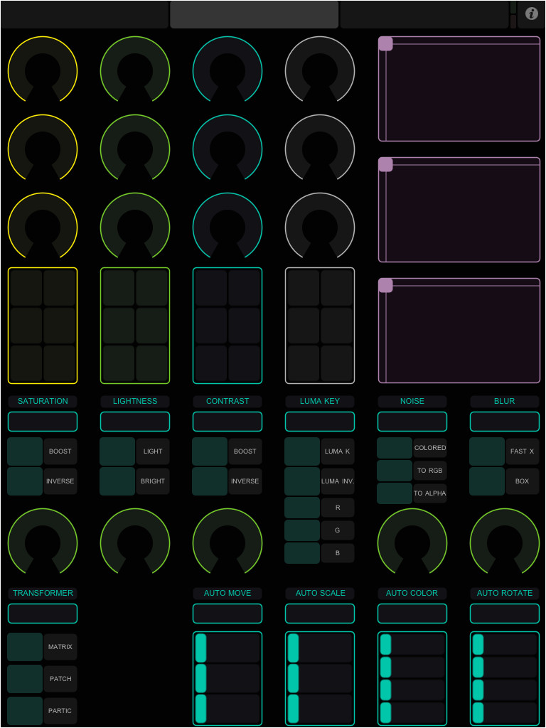Touchosc Templates Ableton Ipad touchosc Template Para Modul8 Y Ableton Live Luiscript