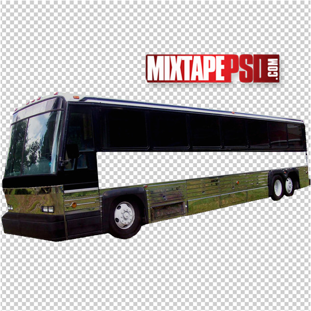 free tour bus ad template