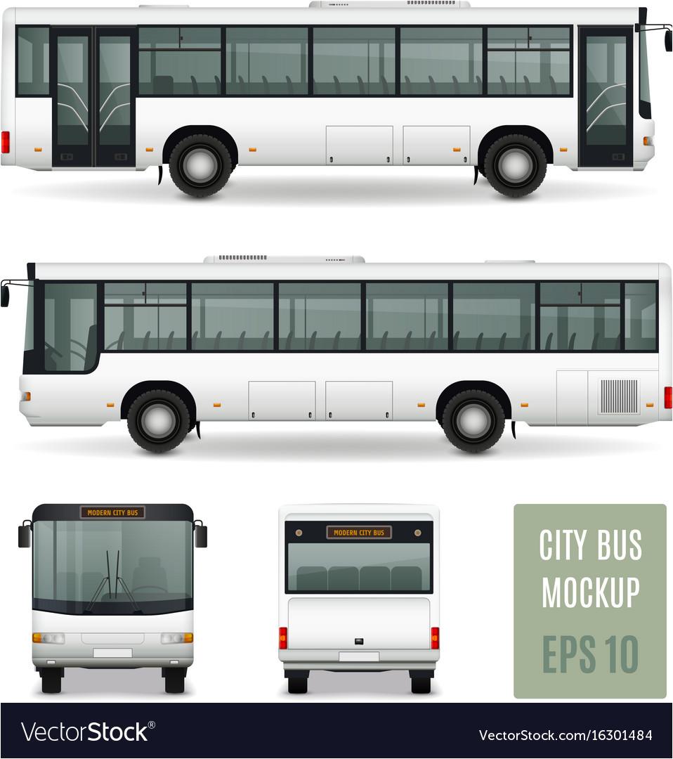 tour bus template
