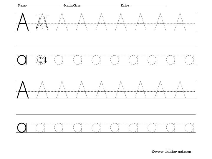 Traceable Alphabet Templates Letter Tracing Templates Letter Of Recommendation