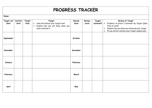 pupil tracking sheet 6110312