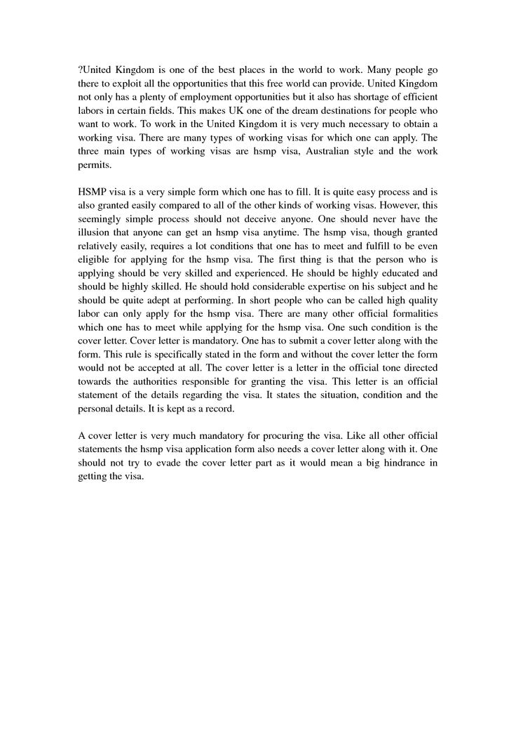 good cover letter examples