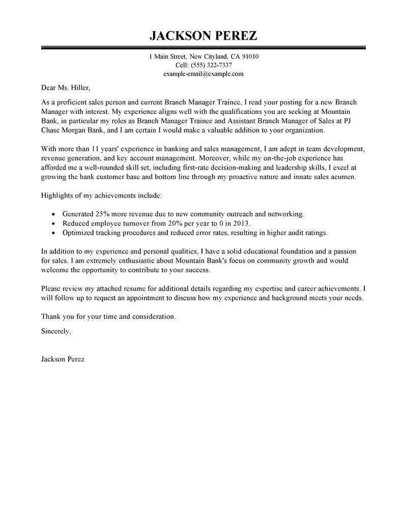 cover letter transferable skills sample