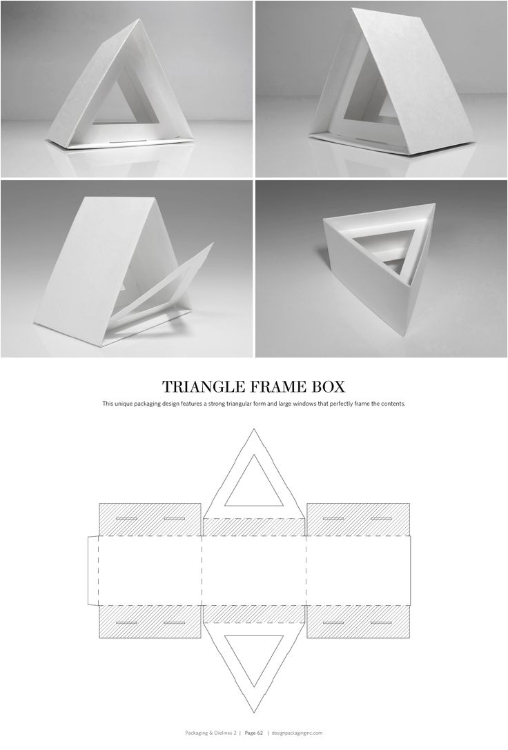 Triangle Packaging Template 78 Best Images About Packaging Dielines On Pinterest