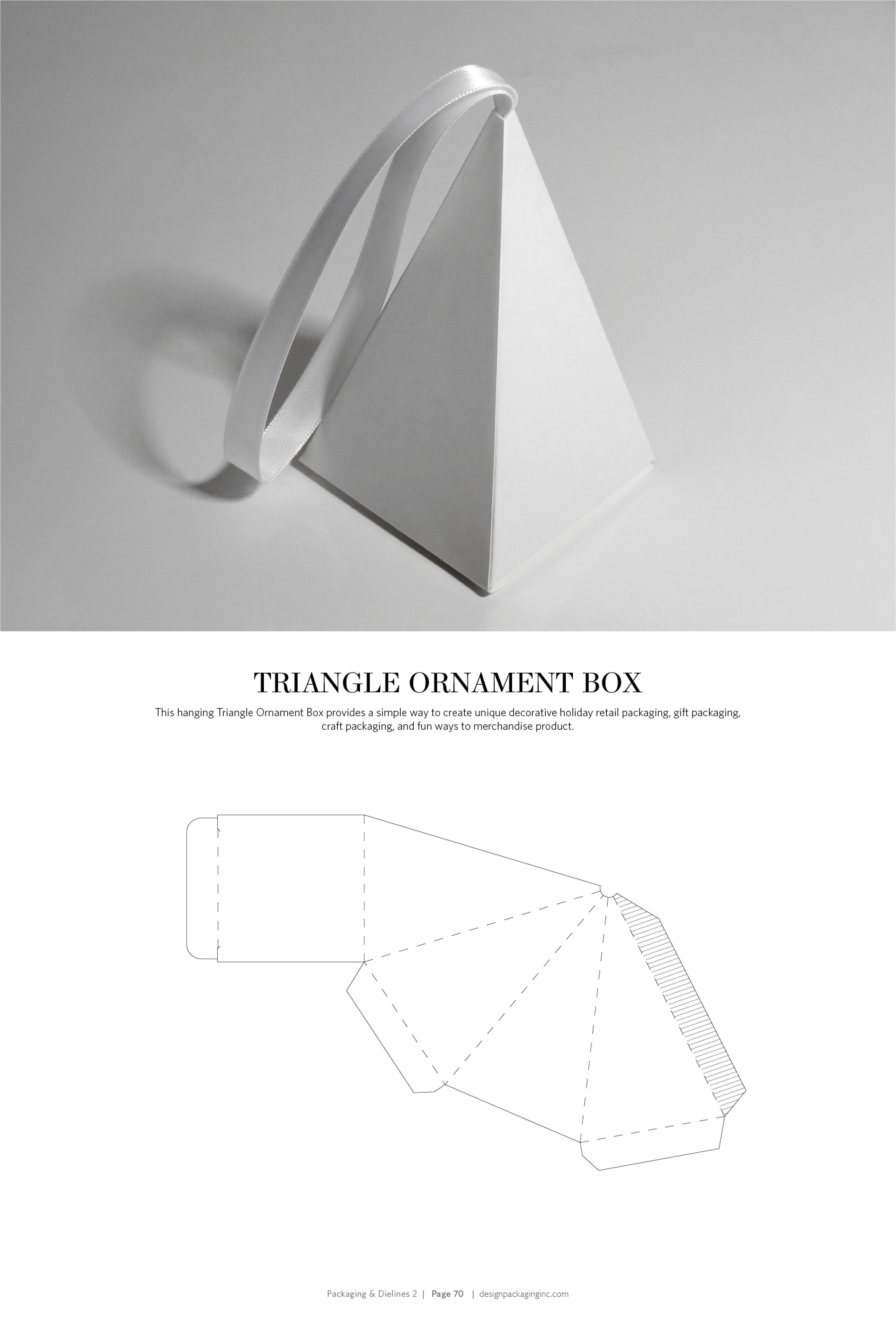 Triangle Packaging Template Packaging Dielines Ii the Designer 39 S Book Of Packaging