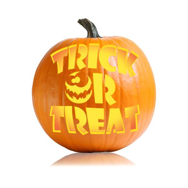 trick or treat easy pumpkin pattern
