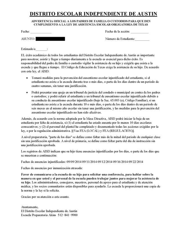 truancy letter template attendance warning letters download