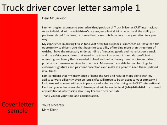 Truck Driver Cover Letter No Experience Uber Driver Requirements Alvia