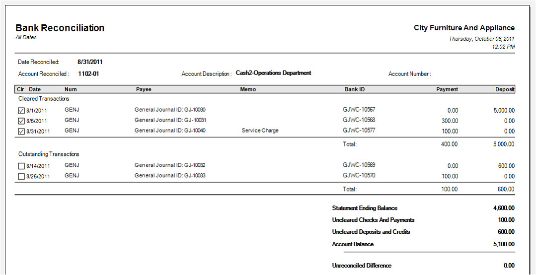 Trust Account Reconciliation Template Bank Reconciliation Template Cyberuse