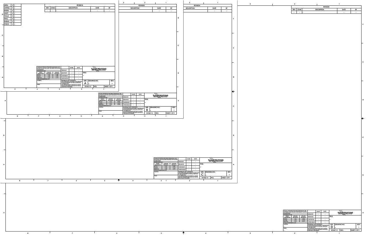Turbocad Drawing Template Turbocad Gallery