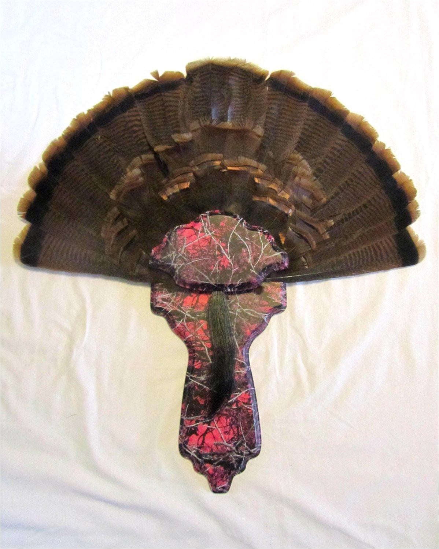 Turkey Fan Mount Template Custom Turkey Plaque Bing Images