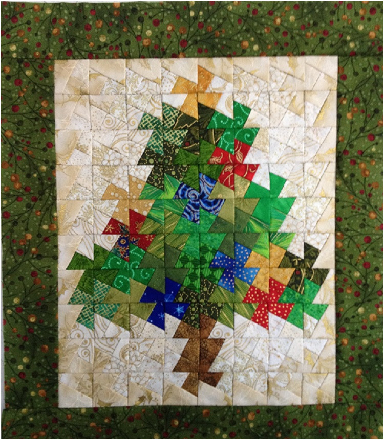 piecing with twist