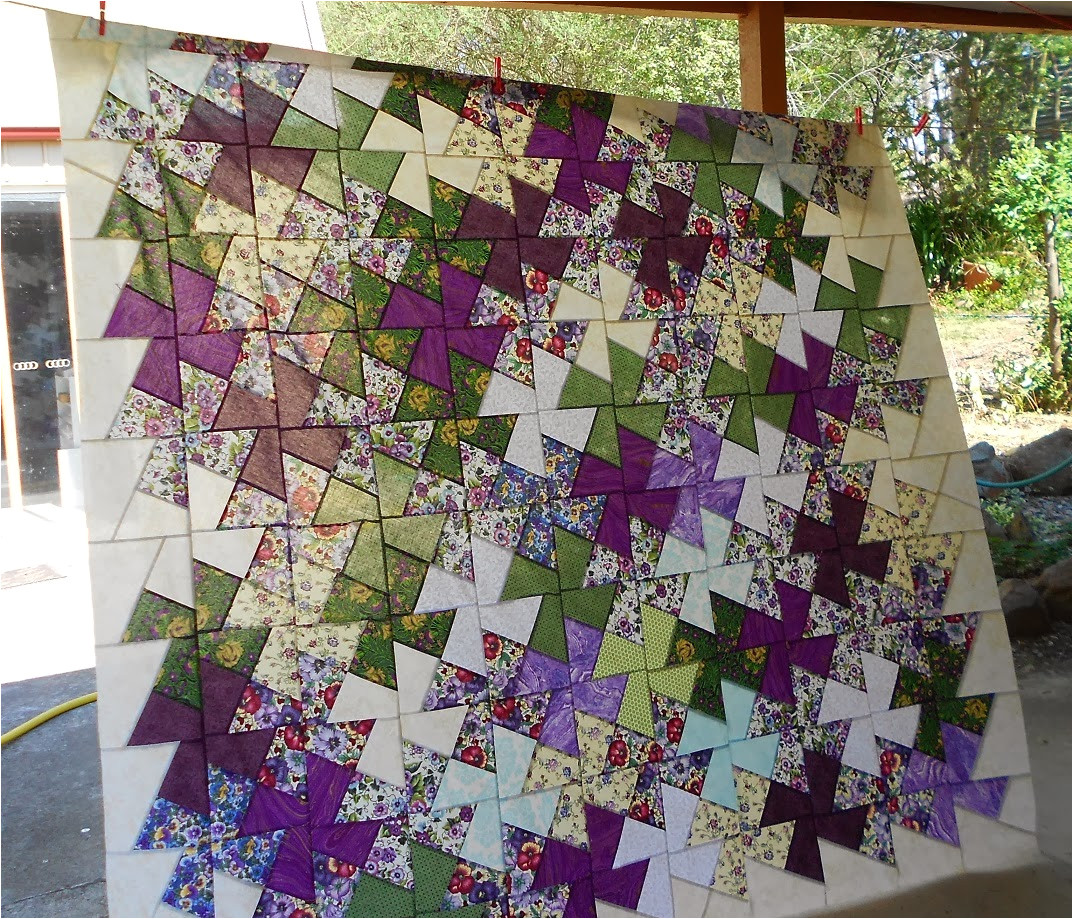 twister template quilt