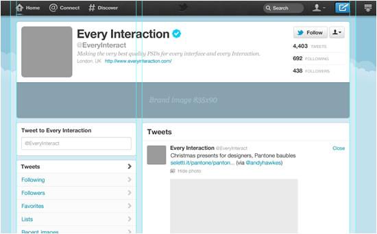 Twitter Timeline Template Psd Timeline De Facebook Y Nuevo Diseno De Twitter