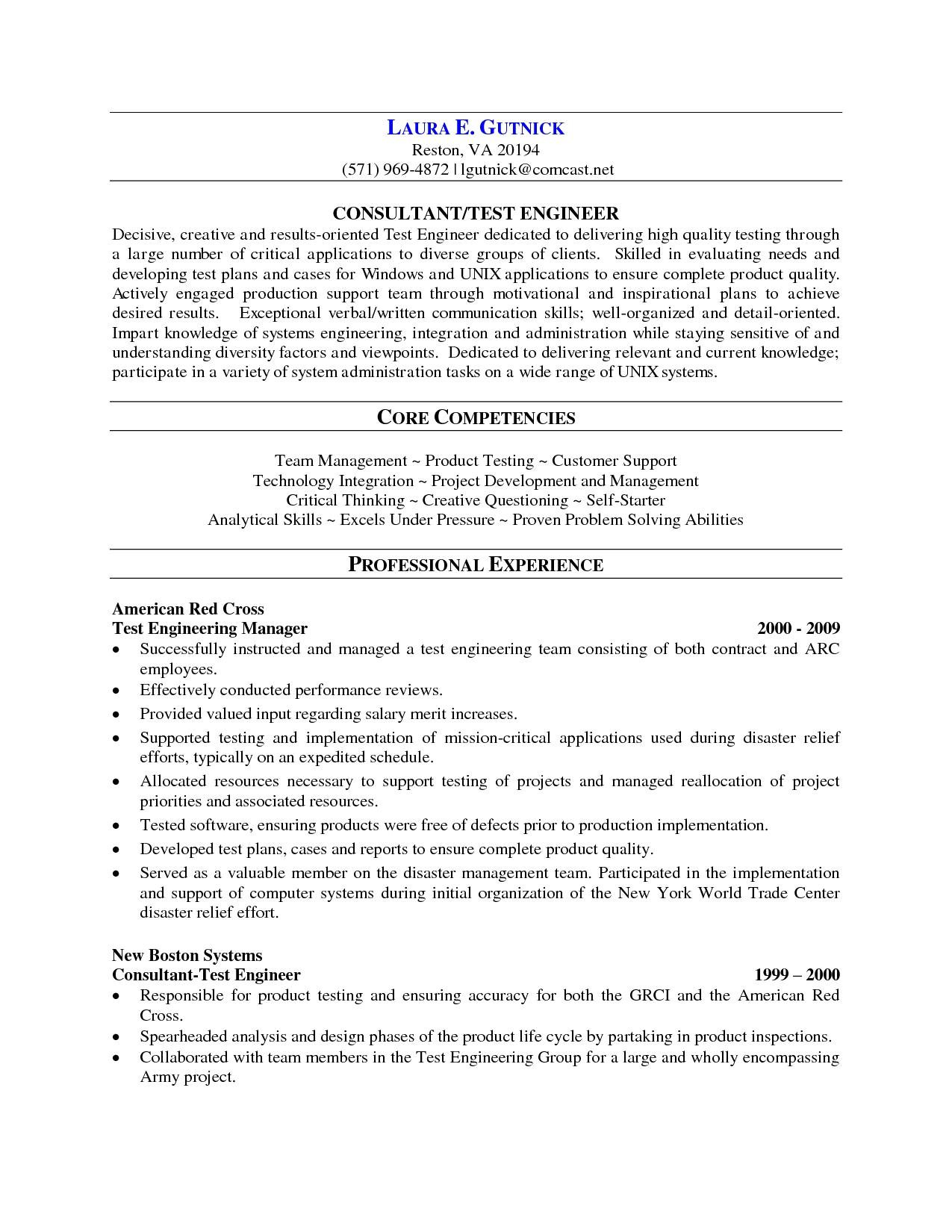 Two Years Experience Resume Sample Sample Experience Resume format Lovely software Testing