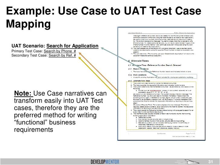 uat testing template