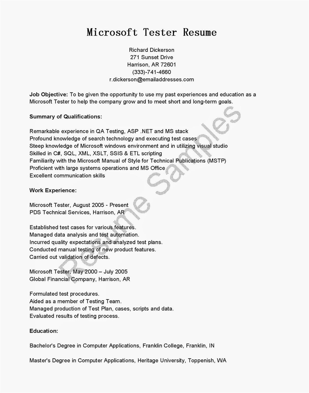 uat testing template best software testing resume for fresher doc resume for study