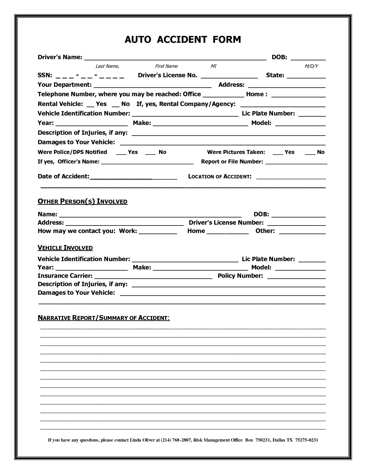 post universal claim form template 196786