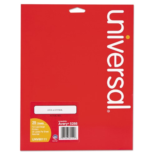 Universal Laser Printer Labels Template Universal Laser Printer File Folder Labels 3 7 16 Quot X 2 3