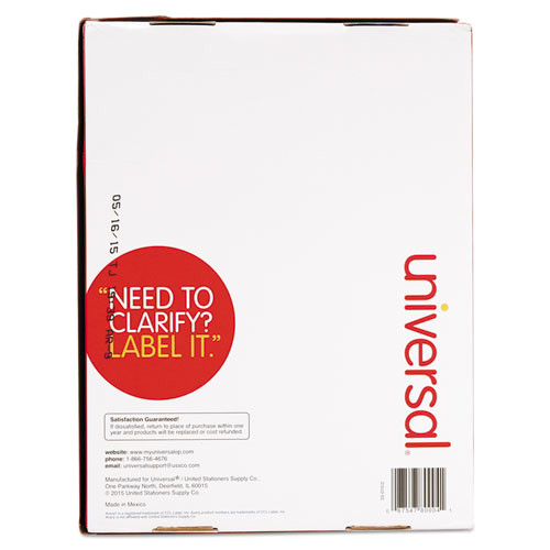 laser printer permanent labels 2 x 4 white 2500box unv80004