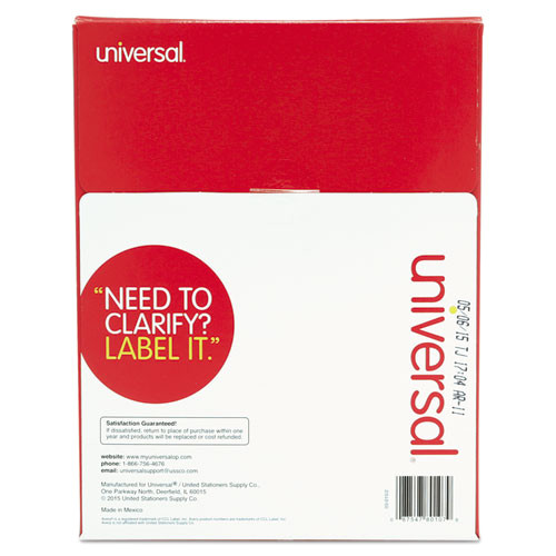 Universal Laser Printer Labels Template Unv80107 Universal Laser Printer Permanent Labels Zuma