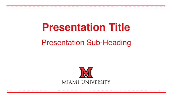 university of miami powerpoint template powerpoint templates the miami brand ucm miami university template