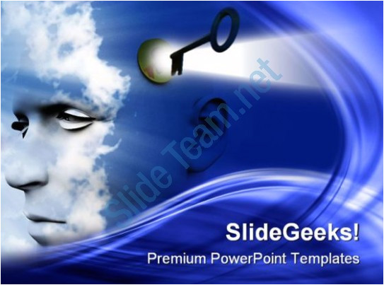 unlock your mind future powerpoint templates and powerpoint backgrounds 0211