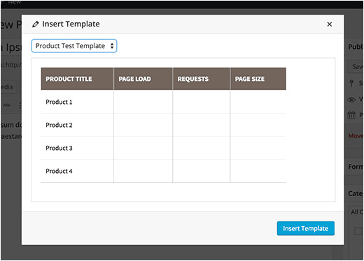 Upload Template to WordPress How to Add Content Templates In WordPress Post Editor