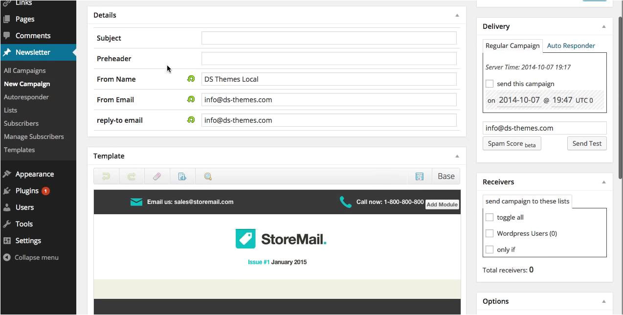 Upload Template to WordPress How to Upload and Edit Your Mymail Template to WordPress