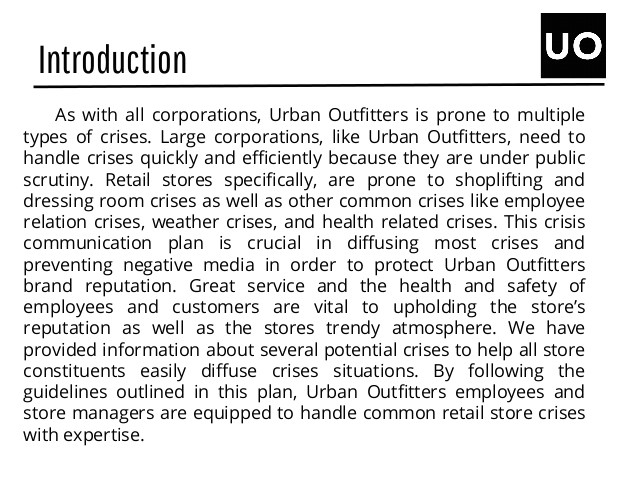 urban outfitters case study part 4