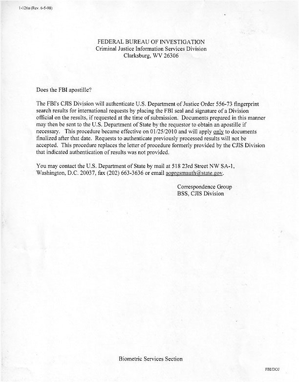 Us Department Of State Authentications Cover Letter Florida Apostille Cover Letter Sle Cover Letter for
