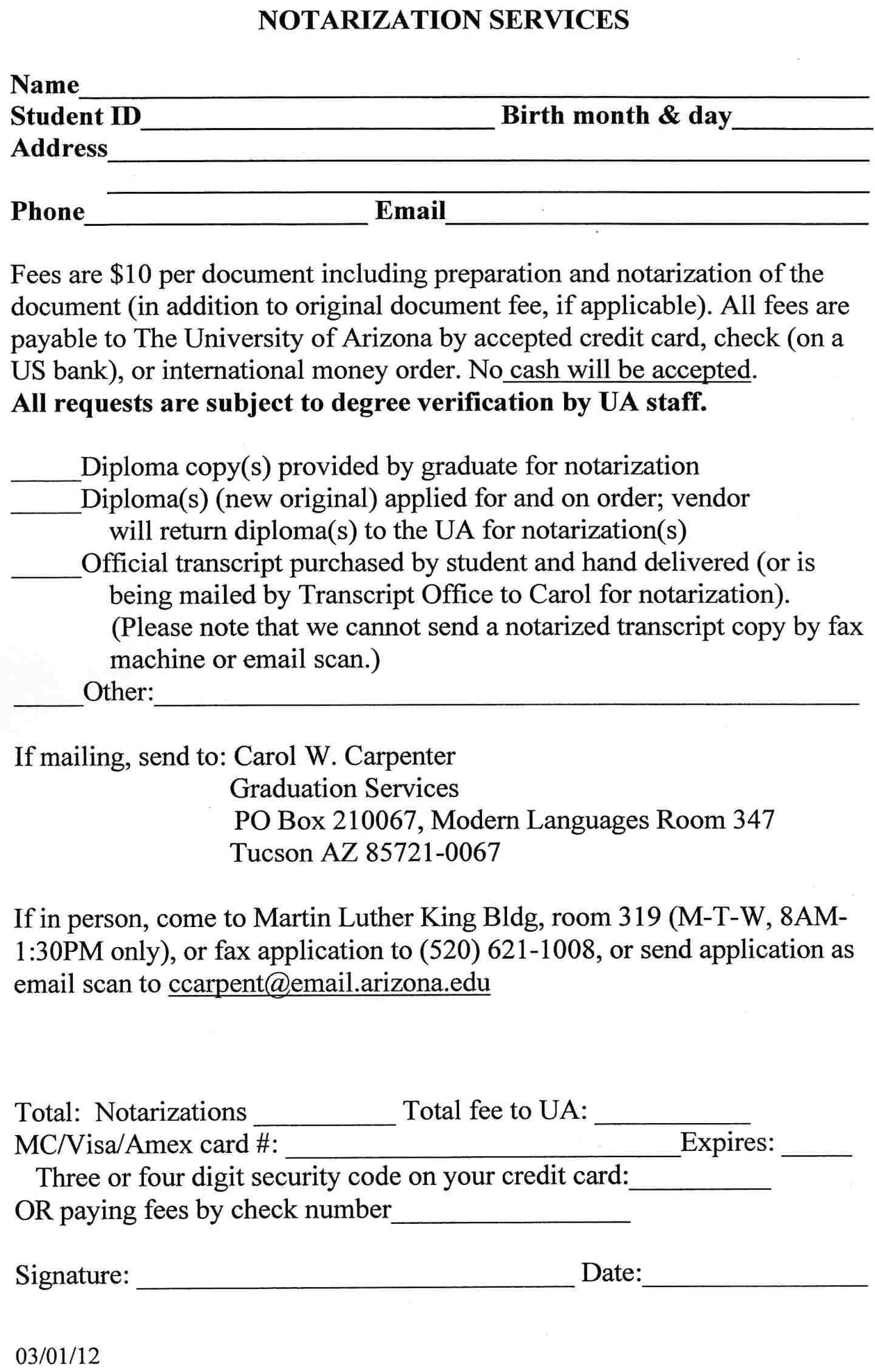 state department authentication cover letter