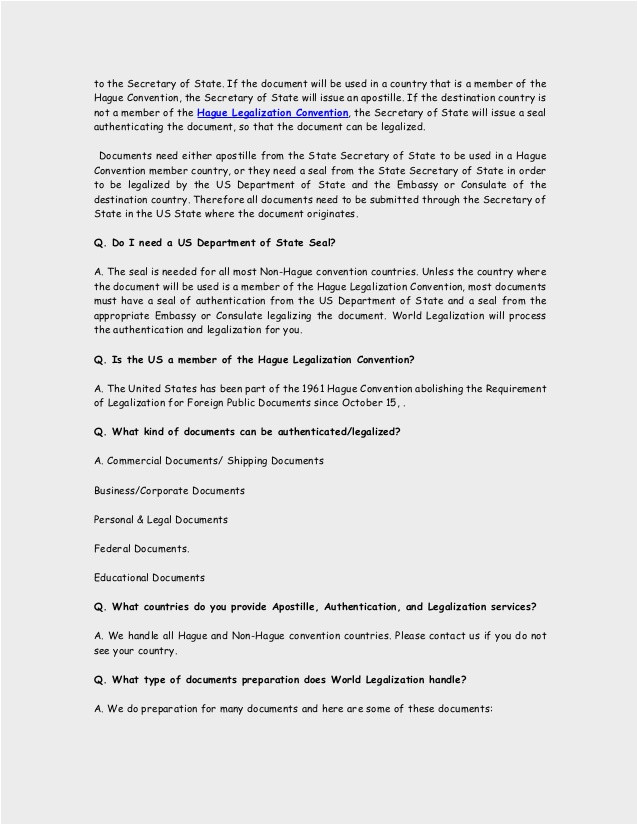 us department of state authentications cover letter apostille attestation authentication and embassy legalization