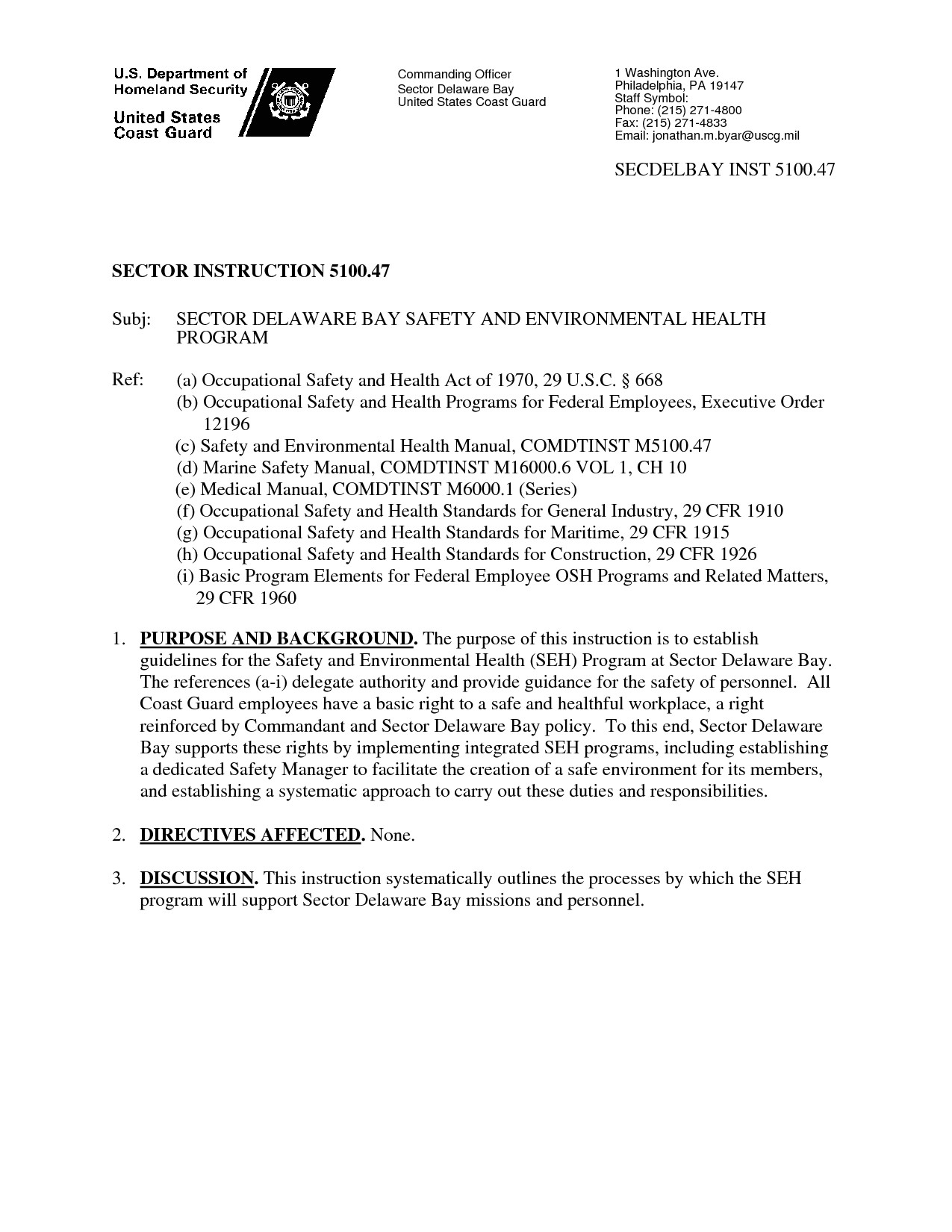 post coast guard memorandum template 407079
