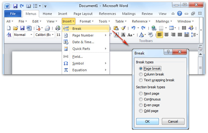 User Manual Template Word 2010 Microsoft Word Manual Aligning Numbers In Table Of
