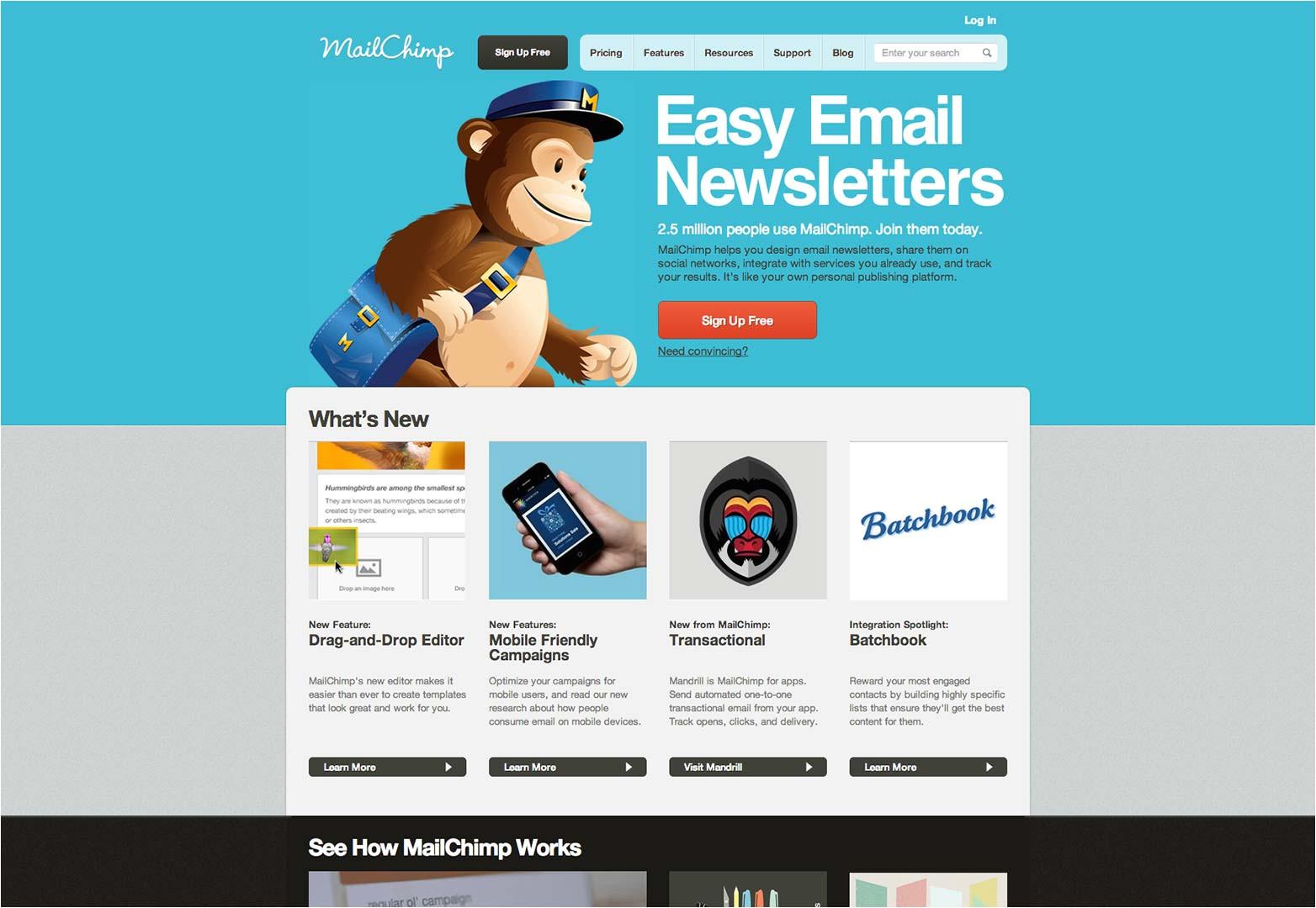 Using Mailchimp Templates 9 Vital tools for Shoestring Startups Webdesigner Depot