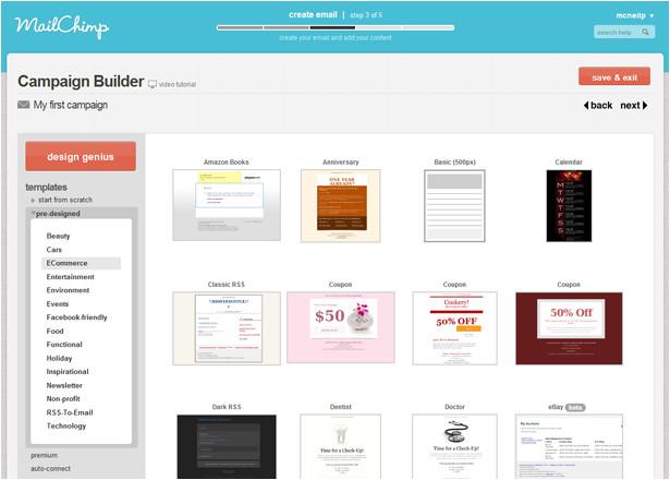 setup mailchimp auto responder build email list