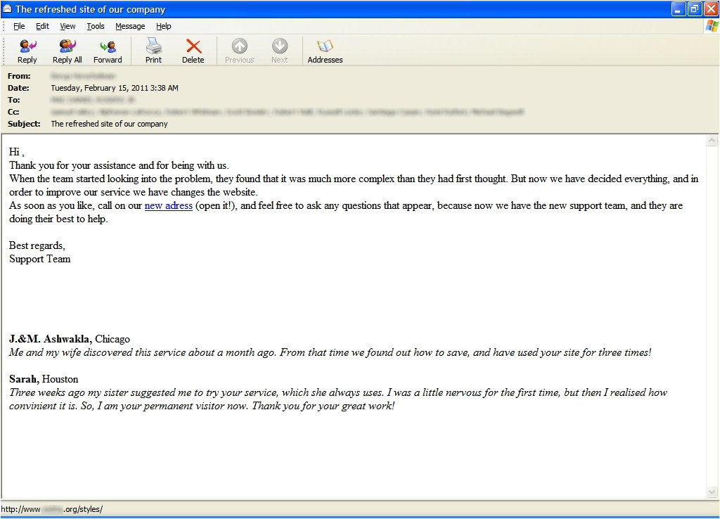 post business email messages examples 777975