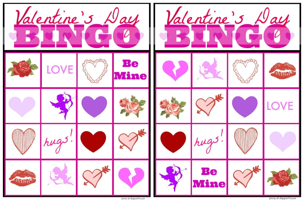 post free printable valentine s day bingo 25946