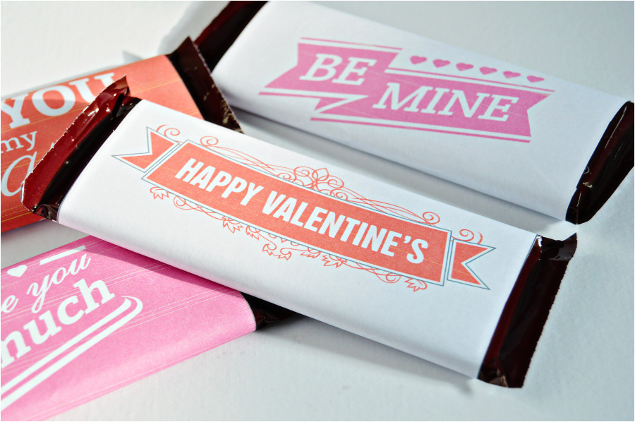 Valentine Candy Bar Wrapper Templates Homan at Home