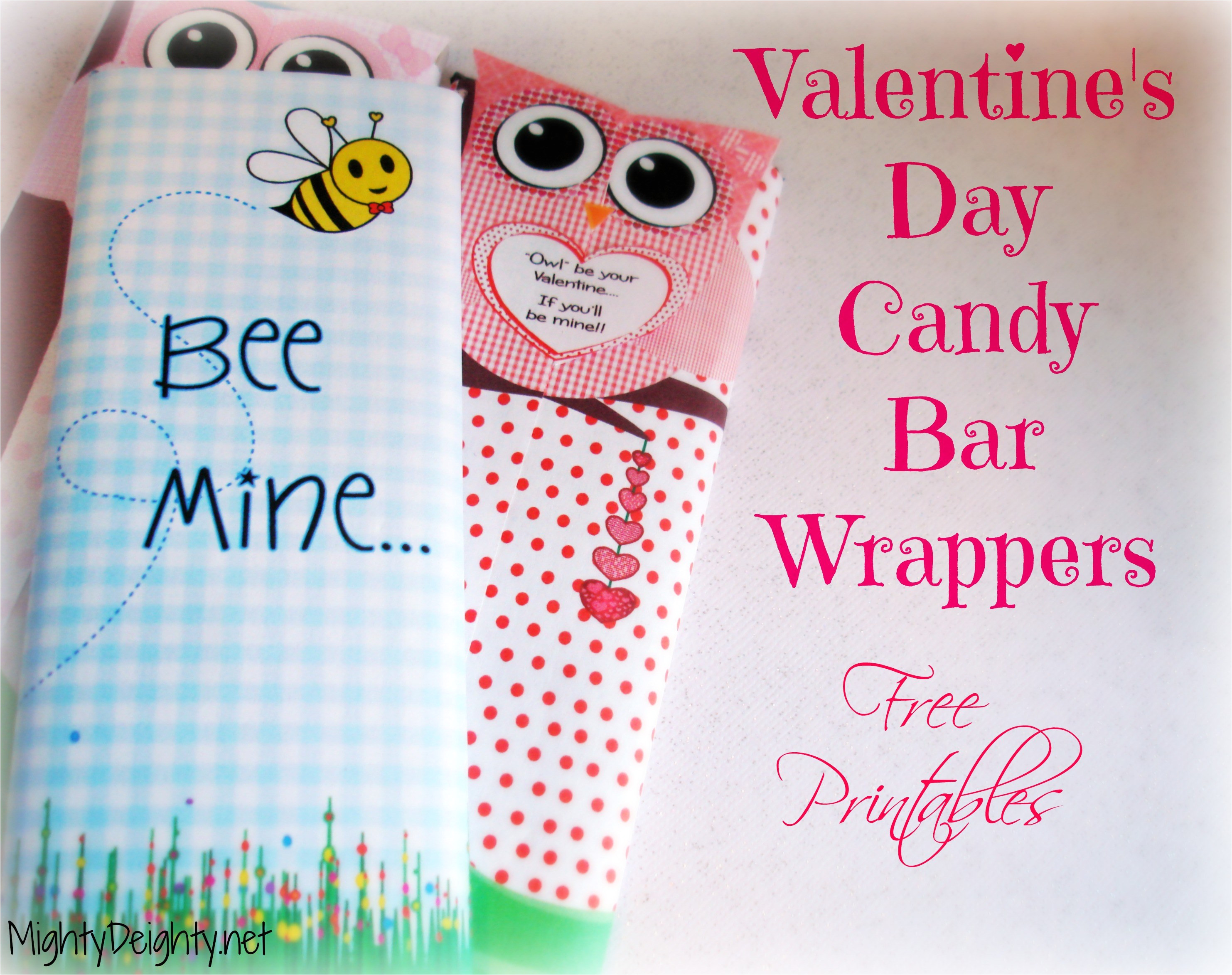 valentines day printable candy bar wrappers free