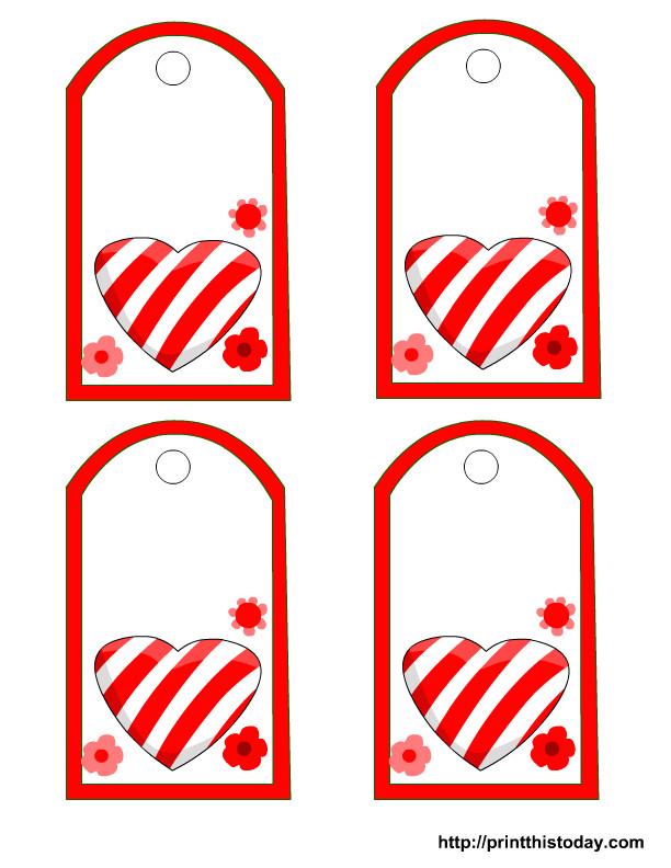 post free printable heart gift tags 422356