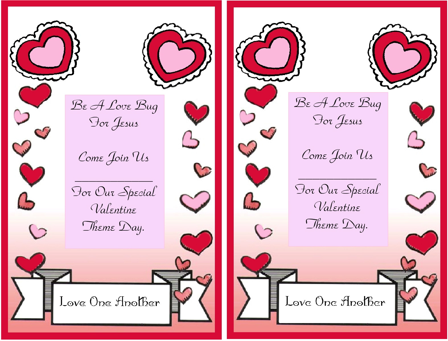 post free printable valentine day flyer 343831