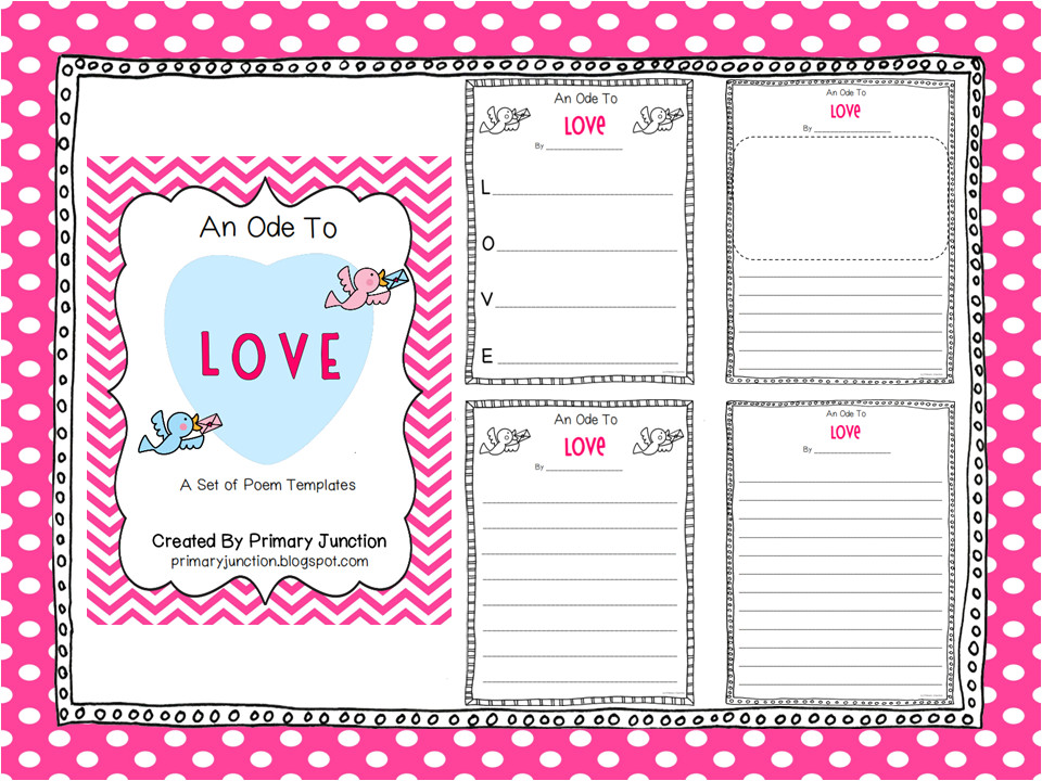 valentines day poem templates
