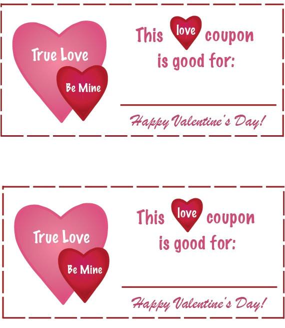 love coupons free printable