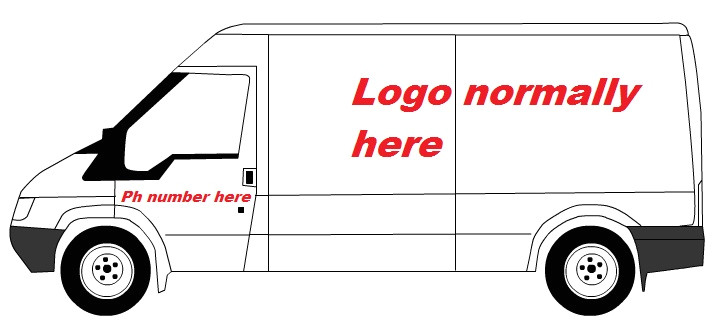 Van Sign Writing Templates Marketing for Trades Your Van Sign Writing