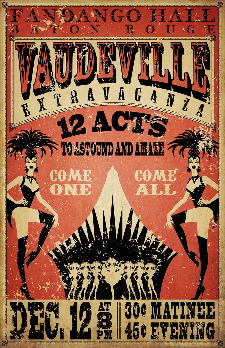 Vaudeville Poster Template 364 Best Fun House Images On Pinterest Amusement Parks