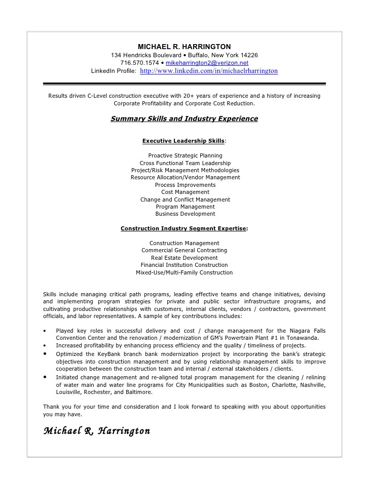 Vendor Management Cover Letter Sample Cover Letter September 2015