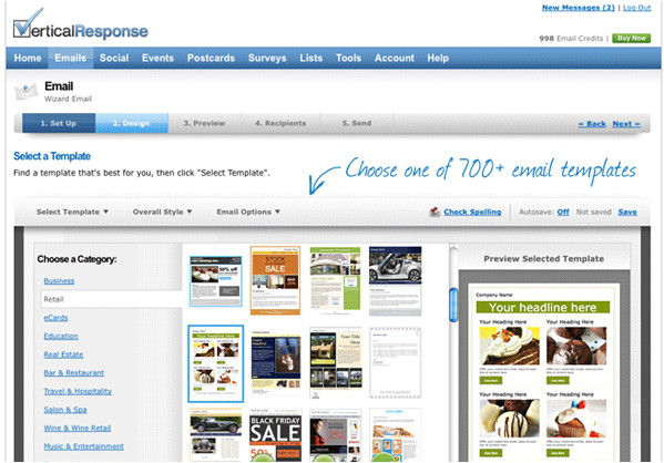 Vertical Response Templates Best Free Email Templates for Your Email Campaigns Getapp